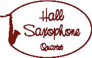 Hallsax Saxophone Quarter Logo